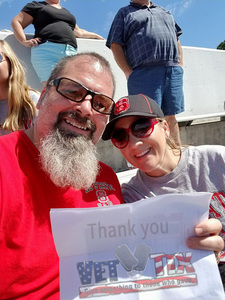 Scott attended NC State Wolfpack vs. Syracuse - NCAA Football - Military Appreciation Game on Sep 30th 2017 via VetTix