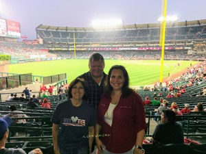 Jodie attended Los Angeles Angels vs. Cleveland Indians - MLB on Sep 20th 2017 via VetTix
