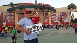 Ruben attended Los Angeles Angels vs. Cleveland Indians - MLB on Sep 20th 2017 via VetTix