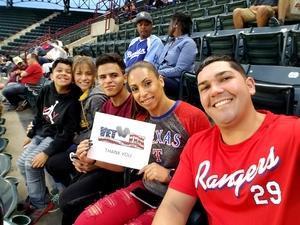yamil attended Texas Rangers vs. Oakland Athletics - MLB on Sep 29th 2017 via VetTix
