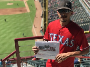 Click To Read More Feedback from Texas Rangers vs. Oakland Athletics - MLB