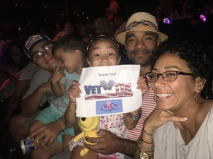 Jason attended Peppa Pig Live - Evening Show on Oct 7th 2017 via VetTix
