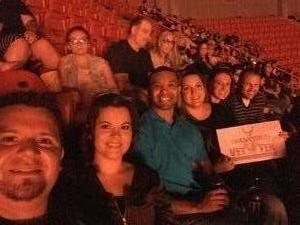 Daniel attended Big Church Night Out With Newsboys on Oct 7th 2017 via VetTix