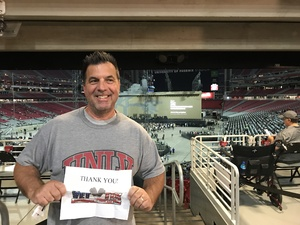 Lou attended U2 the Joshua Tree Tour 2017 - Opening: Beck - Live in Concert on Sep 19th 2017 via VetTix