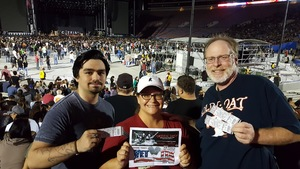 Jeff attended Green Day - Revolution Radio Tour on Sep 16th 2017 via VetTix