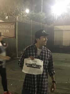 Ernesto attended Green Day - Revolution Radio Tour on Sep 16th 2017 via VetTix