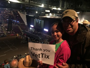 Chris attended PBR Rumble in the Rockies - Saturday Evening on Sep 30th 2017 via VetTix