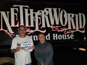 Click To Read More Feedback from Netherworld Haunted House - Military and Veteran Appreciation Weekend - Sept. 22 and 23 Only