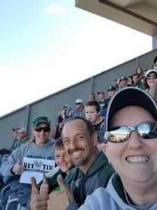 Elise attended Michigan State Spartans vs. Iowa - NCAA Football on Sep 30th 2017 via VetTix