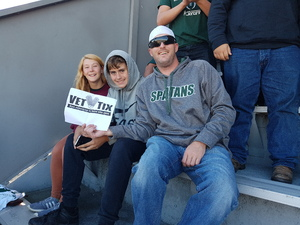 Jason attended Michigan State Spartans vs. Iowa - NCAA Football on Sep 30th 2017 via VetTix
