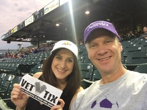 Martin attended Louisville City FC vs. Charlotte Independence - USL on Oct 7th 2017 via VetTix