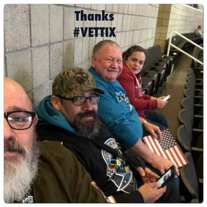 Rudy Badillo attended San Jose Sharks vs. New York Rangers - NHL - Alternate Jersey Auction - Military Appreciation on Jan 25th 2018 via VetTix