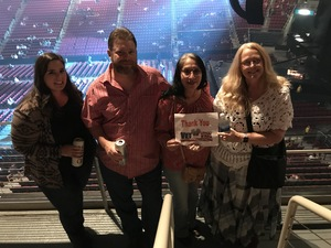 Laurie attended Soul2Soul Tour With Tim McGraw and Faith Hill on Sep 29th 2017 via VetTix