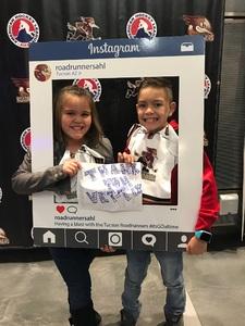 David attended Tucson Roadrunners vs. San Jose Barracuda - AHL on Mar 20th 2018 via VetTix