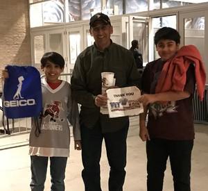 Abelardo attended Tucson Roadrunners vs. San Jose Barracuda - AHL on Mar 20th 2018 via VetTix