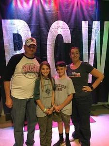 Michelle attended River City Wrestling Presents - Trust Me - Special Appearance by Jake the Snake Roberts on Nov 3rd 2017 via VetTix