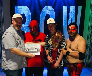 Johnny attended River City Wrestling Presents - Trust Me - Special Appearance by Jake the Snake Roberts on Nov 3rd 2017 via VetTix