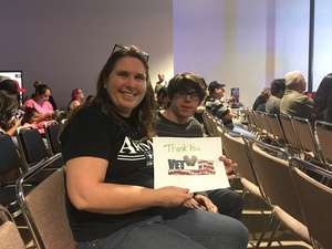 Kimberly attended River City Wrestling Presents - Trust Me - Special Appearance by Jake the Snake Roberts on Nov 3rd 2017 via VetTix