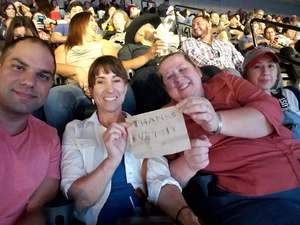 kim attended Soul2Soul Tour With Tim McGraw and Faith Hill on Oct 5th 2017 via VetTix