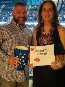 Kristen attended Soul2Soul Tour With Tim McGraw and Faith Hill on Oct 5th 2017 via VetTix