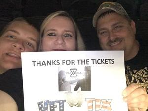 Brian attended Soul2Soul Tour With Tim McGraw and Faith Hill on Oct 5th 2017 via VetTix
