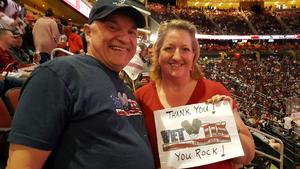 Click To Read More Feedback from Arizona Coyotes vs. Vegas Golden Knights - NHL - Home Opener!