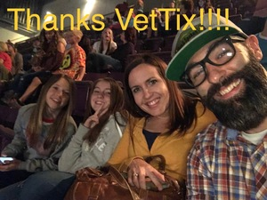 Jay attended Big Church Night Out With Newsboys on Oct 5th 2017 via VetTix