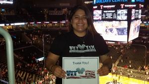 Maria attended Brooklyn Nets vs. Atlanta Hawks - NBA on Oct 22nd 2017 via VetTix