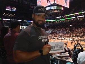 Randy attended Brooklyn Nets vs. Atlanta Hawks - NBA on Oct 22nd 2017 via VetTix
