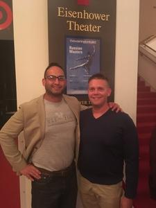 Duane Perez/USMC attended Russian Masters Presented by the Washington Ballet on Oct 5th 2017 via VetTix