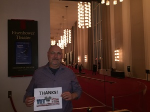 Andrew attended Russian Masters Presented by the Washington Ballet on Oct 5th 2017 via VetTix
