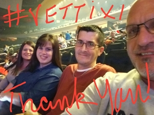 Nicholas Boulware attended Katy Perry Witness World Tour on Oct 2nd 2017 via VetTix