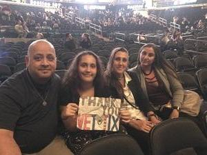 Reno attended Katy Perry Witness World Tour on Oct 2nd 2017 via VetTix