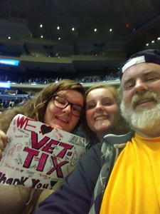 david attended Katy Perry Witness World Tour on Oct 2nd 2017 via VetTix