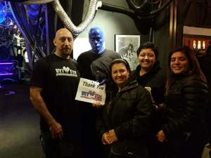 Jose attended Blue Man Group - Chicago on Oct 15th 2017 via VetTix
