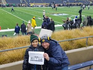 Click To Read More Feedback from Notre Dame Fighting Irish vs. Navy - NCAA Football