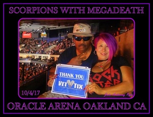 Click To Read More Feedback from Scorpions With Special Guest Megadeth