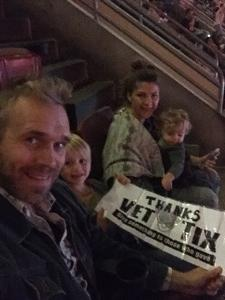 Paul attended Katy Perry: Witness the Tour With Noah Cyrus on Oct 12th 2017 via VetTix