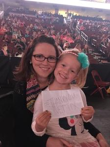 Michelle attended Katy Perry: Witness the Tour With Noah Cyrus on Oct 12th 2017 via VetTix