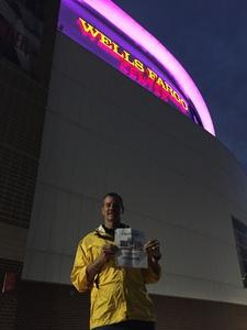 James attended Katy Perry: Witness the Tour With Noah Cyrus on Oct 12th 2017 via VetTix