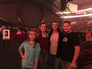 Shannon attended Katy Perry: Witness the Tour With Noah Cyrus on Oct 12th 2017 via VetTix
