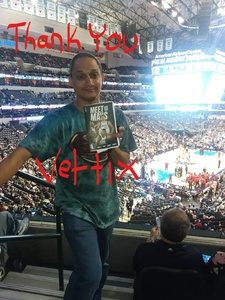 Jonathan attended Dallas Mavericks vs. Chicago Bulls - NBA - Preseason! on Oct 4th 2017 via VetTix