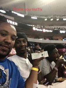 Damani attended Dallas Mavericks vs. Chicago Bulls - NBA - Preseason! on Oct 4th 2017 via VetTix