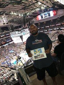 Tommie attended Dallas Mavericks vs. Chicago Bulls - NBA - Preseason! on Oct 4th 2017 via VetTix