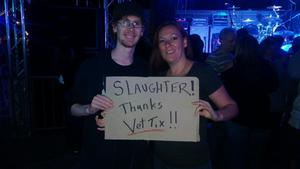 Shannon attended Slaughter - Live in Concert on Nov 19th 2017 via VetTix
