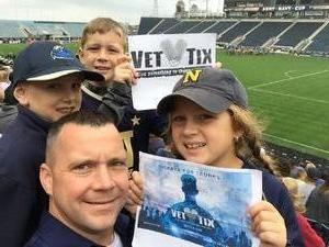 Brian attended Army vs. Navy Cup Vl - Collegiate Soccer on Oct 15th 2017 via VetTix