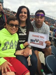Roberto attended Army vs. Navy Cup Vl - Collegiate Soccer on Oct 15th 2017 via VetTix