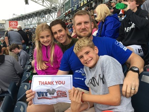 Eric attended Army vs. Navy Cup Vl - Collegiate Soccer on Oct 15th 2017 via VetTix