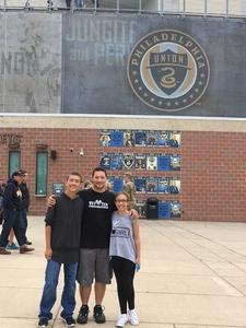 Shannon attended Army vs. Navy Cup Vl - Collegiate Soccer on Oct 15th 2017 via VetTix