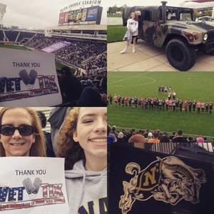 Megan attended Army vs. Navy Cup Vl - Collegiate Soccer on Oct 15th 2017 via VetTix